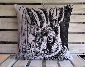 Hare Cushion  - Hare Gift