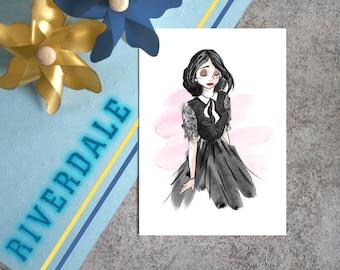 Carte Postale-Veronica-Riverdale