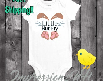 Easter onesie, Little Bunny Easter shirt