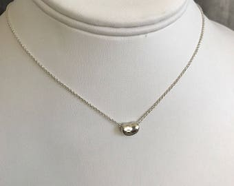 Tiffany & Co Mini bean Necklace with Replaced Clasp