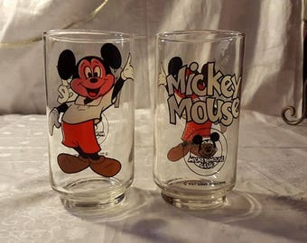 Mickey Mouse vintage glasses