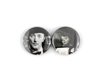 "The Night of the Hunter - 1"" Button Pin Set"