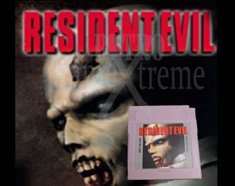 Resident Evil unreleased Gameboy Color cartridge fan made