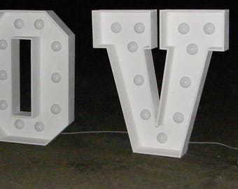 HUGE LOVE SIGNl!! 1,5m tall!! photo sesion, wedding decoration, backlit.