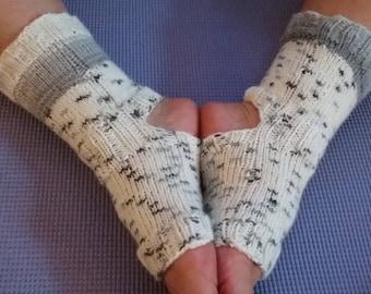 Yoga Socks, hand knitted