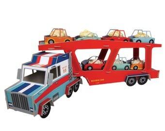 Big Rig Truck Centerpiece / Truck Party / Truck Centerpiece / Truck Theme / Truck Birthday Party