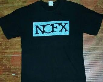 Vintage 90 NOFX band tees