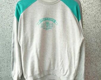 Vintage LE TIGRE sweatshirt / Le tigre crewneck