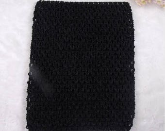 sale 4.35 instead of 4.80.BUSTIER stretch 2-6 years black crochet for creating girl tutu dress