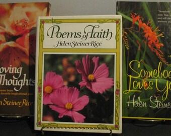 Helen Steiner Rice Book Lot