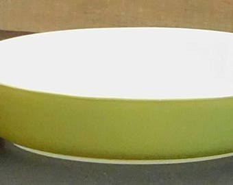 Vintage Avocado Pyrex Pixie Casserole Glass, Green Mini 10 Ounce Baking Dish, Single Serve Cinderella Dish, Individual Corning Tableware