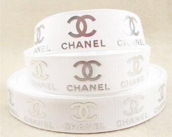 White Chanel Ribbon