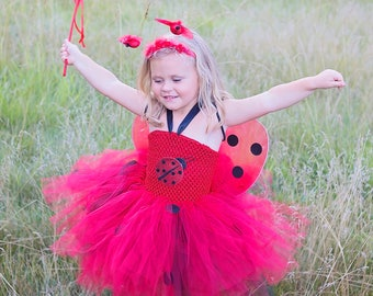 Ladybug tutu dress - ladybug dress - ladybug tutu - ladybug dress - ladybug - ladybug birthday party - butterfly - designer dress