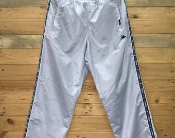 """Rare! Vintage Kappa Sweatpant Joggerpant Size 30""""~40"""" x 41"""""""