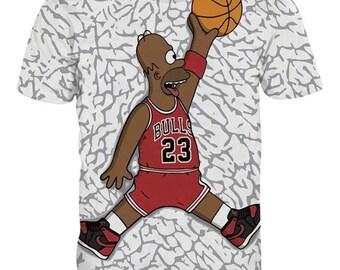 Homer Simpson micheal jordan t shirt. Air homer!!