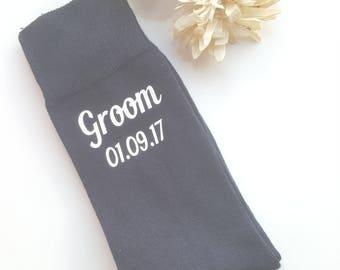 Best Man Socks, Groom Socks, Groomsmen Socks, Personalised Wedding Socks