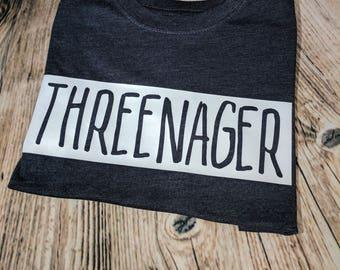 THREENAGER -  Tee