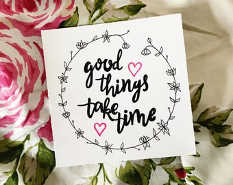Good Things Print