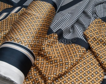 Printed fabric No. 142 per 50cm Polyester square fashion: 150 cm