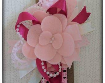 Lovely Pink Baby Flower Headband