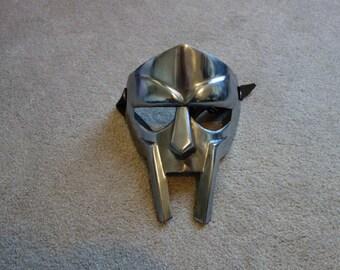 Steel Gladiator MF Doom Mask Replica with adjustable straps hand made renaissance