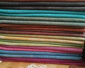32 count RAINBOW hand dyed linen for cross stitch, hardanger, blackwork, embroidery works 19x27 or 38x27 inch