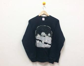 Rare!!! Vintage Walking In Winter Wonderland Sweatshirt Crewneck 90s