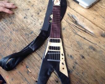 Vintage Gibson Guitar Silk Tie