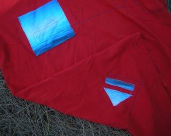 Seafarer Red Pocket T