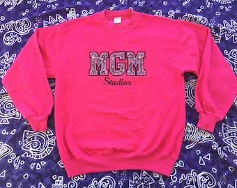 1990's, MGM Studios Sweatshirt
