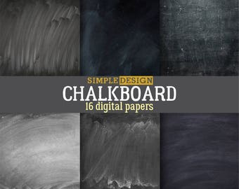 Chalkboard Digital Papers, Chalk Board Texture, Chalkboard Background, Chalkboard paper, Chalkboard digital, Schoolboard papers,