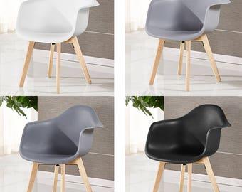 EAMES chrono tub Style Chair design / chaise chrono tub design scandinave