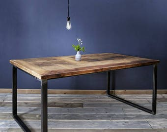 Dining table from lumber, Erik 1 180 x 96cm