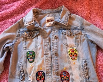 Sugar Skull Custom Jacket