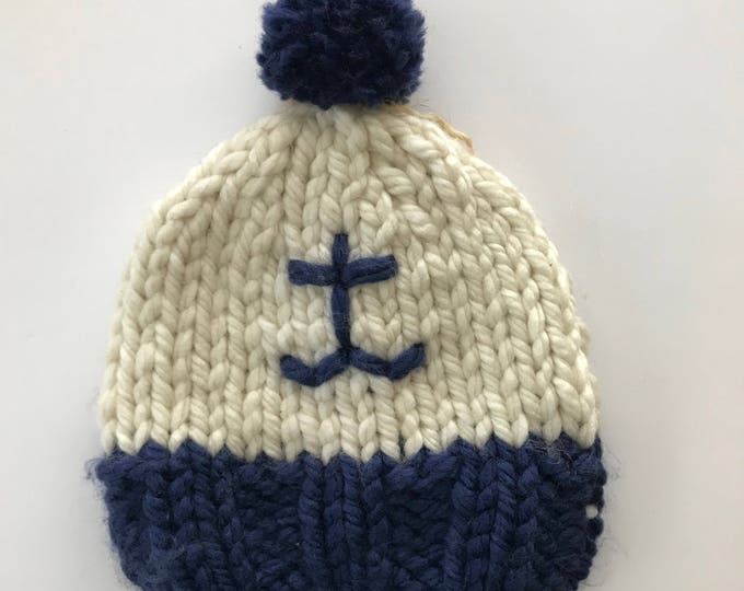 Sailor Cream hat/hand knitted cap Boobie Power