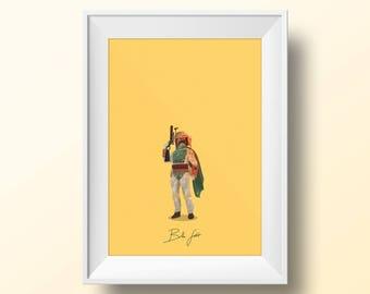 Boba Fett - Star Wars Poster