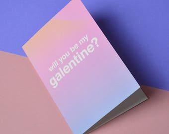 Galentines Card • Greeting Card for Valentines day • Mother daughter girlfriends valentines card • Leslie Knope galentines day card