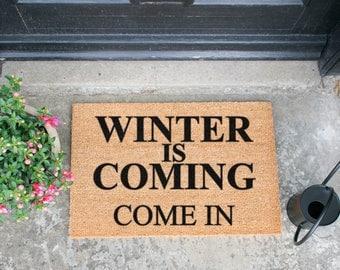Winter is coming doormat - 60x40cm - Game of Thrones quote
