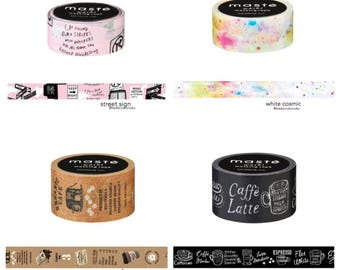 maste washi tape (city)