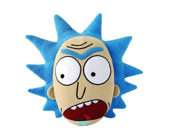Angry Rick Sanchez from Rick and Morty Plush Pillow Toy