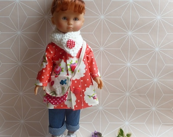 Corolla Darling doll clothes / Paola Reina 33cm - waterproof floral.