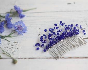 rose gold hair comb wedding hair comb bridal headpiece hair comb bridal comb hair accessories bridal hair piece something blue wedding