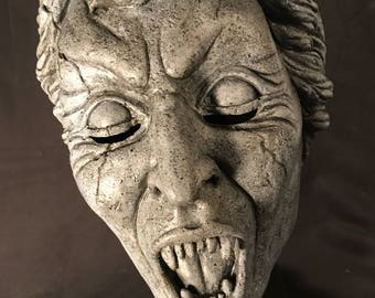 Weeping Angel latex mask