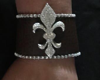 Custom Football Bracelet
