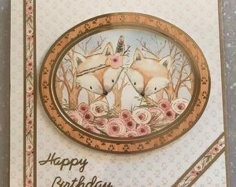 Handmade Birthday Card, Happy Birthday