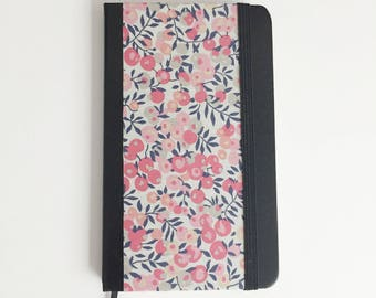 Note book leather and Liberty of London