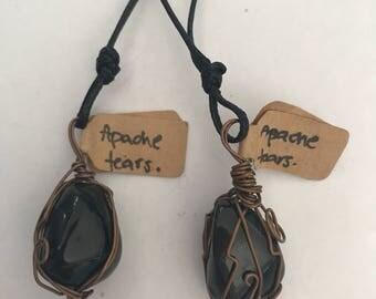 Apache Tears Necklace