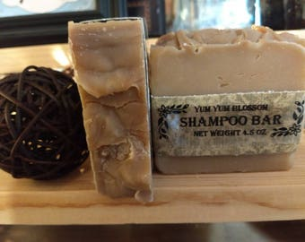 Shampoo Bar that has natural properties.