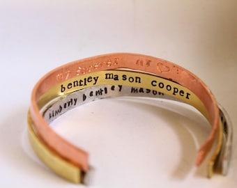 Customized Hidden Mantra Bracelets-coordinate bracelet-Message Bracelet- Friendship Bracelet-Mama Bracelet- Personalized quote bracelet