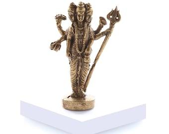 Miniature Brass 'Tri-Murti'
